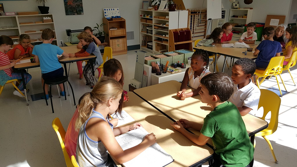 Tris Elementary Students Create Classroom Agreement